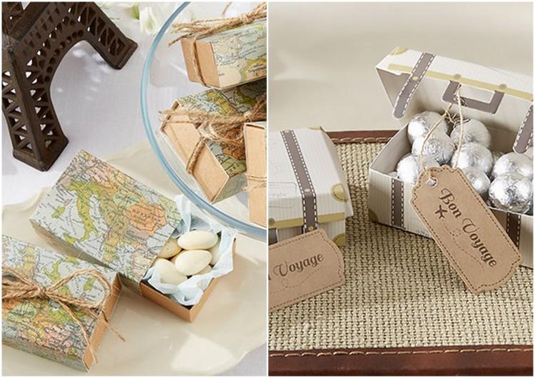 Wedding Favours Travel Wedding Ideas1