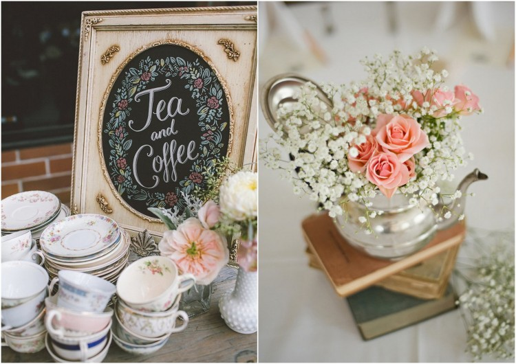 Table Centrepiece Vintage Wedding Ideas1